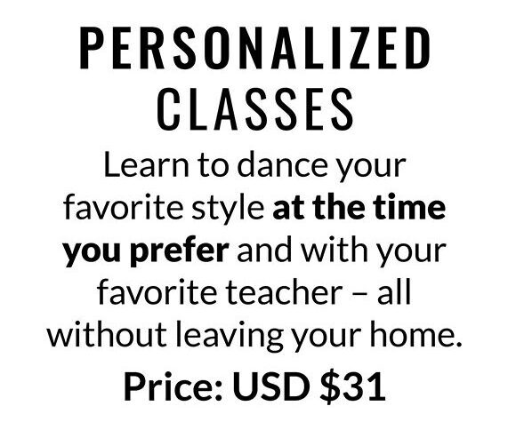 PERSONALIZED CLASSES